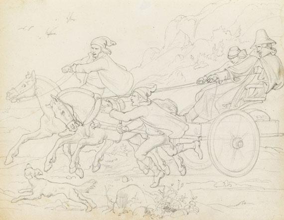Friedrich Preller d. Ä. - 13 Bll.: Reise nach Norwegen - Weitere Abbildung