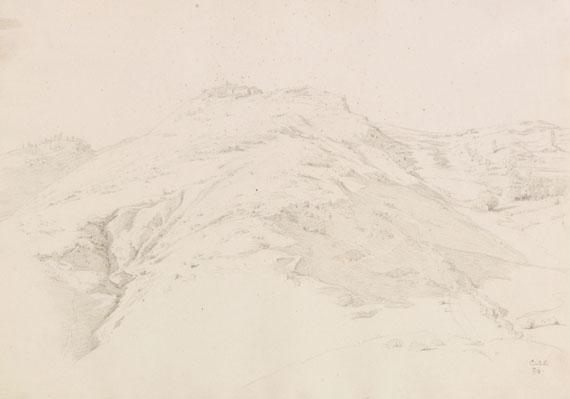 Theobald von Oer - Blick auf Civitella