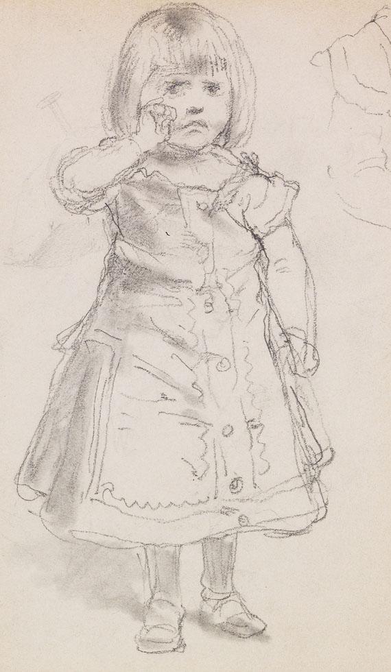 Anton von Werner - Die Tochter des Künstlers