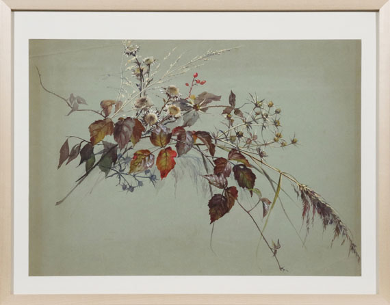 Sophie de Niederhäusern - Herbstlicher Strauß - Rahmenbild