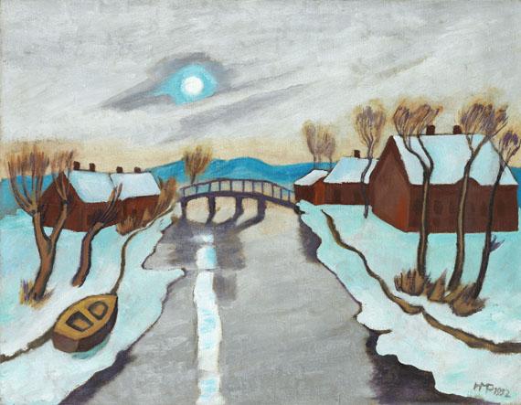 Hermann Max Pechstein - Wintermorgen