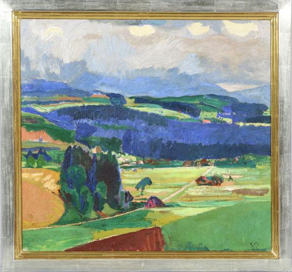 Cuno Amiet - Lueg (Landschaft bei Oschwand) - Rahmenbild