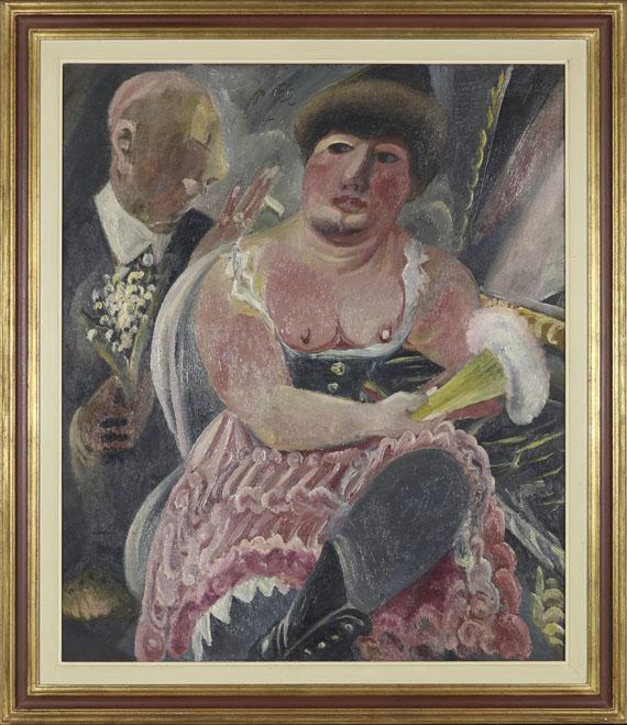 Paul Kleinschmidt - Kavalier mit Maiglöckchen - Rahmenbild