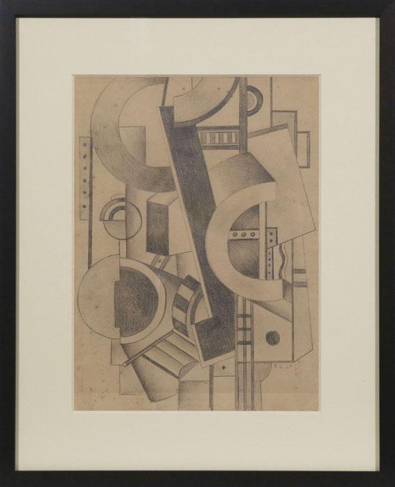 Fernand Léger - Composition mécanique - Rahmenbild