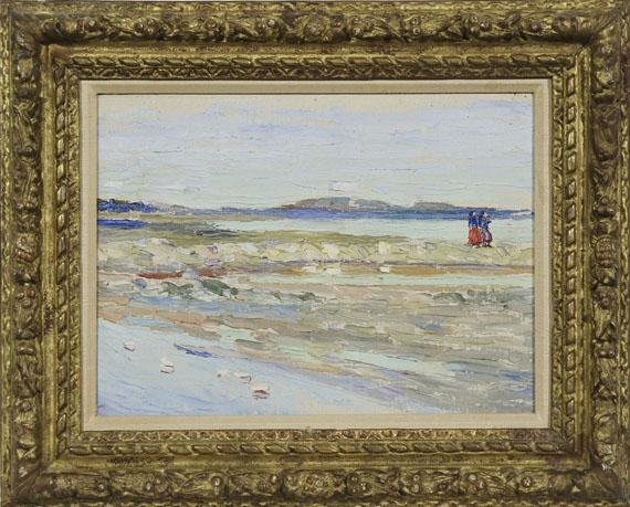 Wassily Kandinsky - Tunis - Strand - Rahmenbild