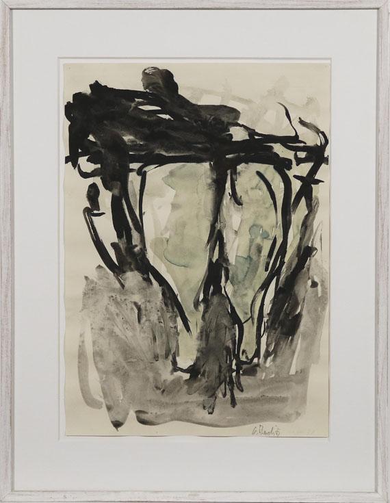 Georg Baselitz - Ohne Titel - Frame image