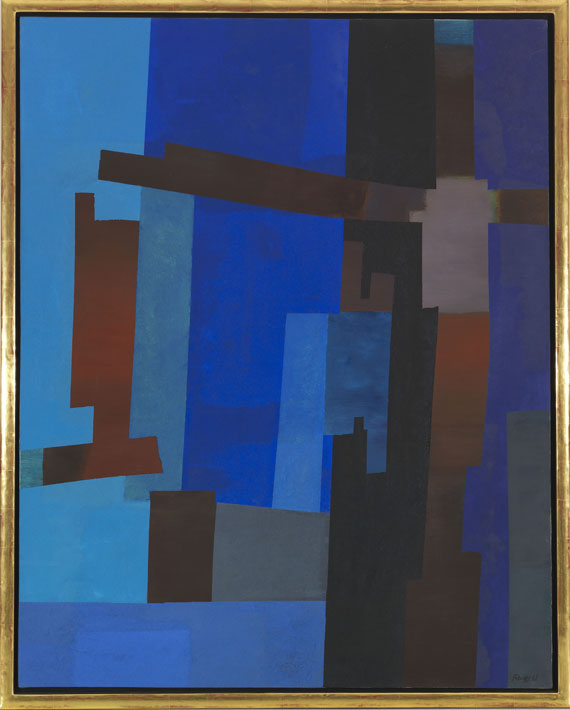 Fritz Winter - Links offen - Rahmenbild