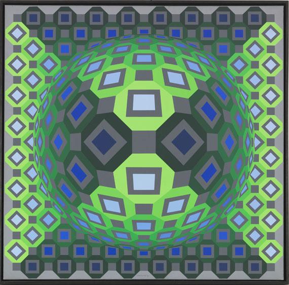 Victor Vasarely - Vilma - Frame image