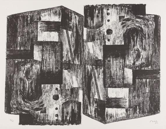 Mappenwerk / Portfolio - Europäische Grafik VI (Bildhauergrafik) - Weitere Abbildung