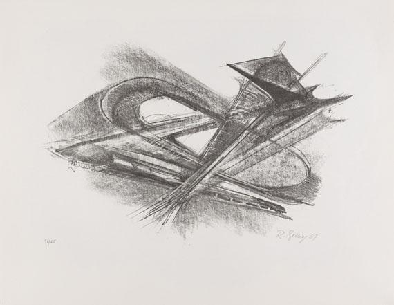 Mappenwerk / Portfolio - Europäische Grafik VI (Bildhauergrafik)
