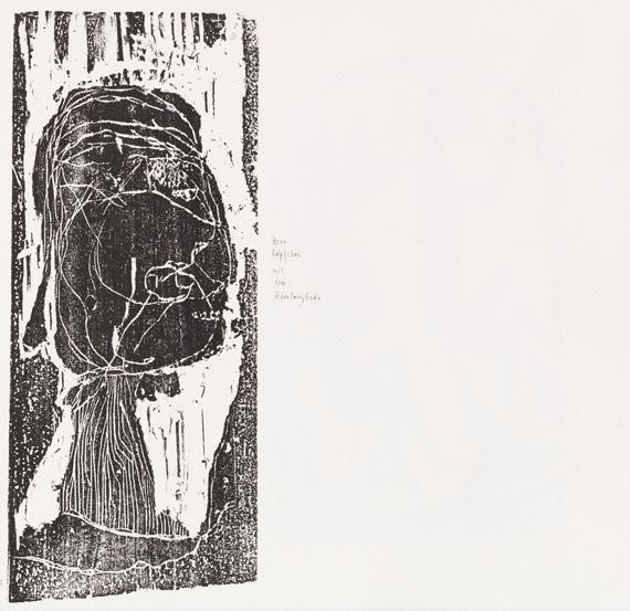 Gerhard Altenbourg - Rinnen - Weitere Abbildung