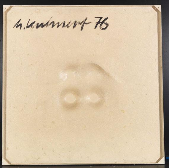 Horst Kuhnert - Raumflächen 76w.4K - Back side