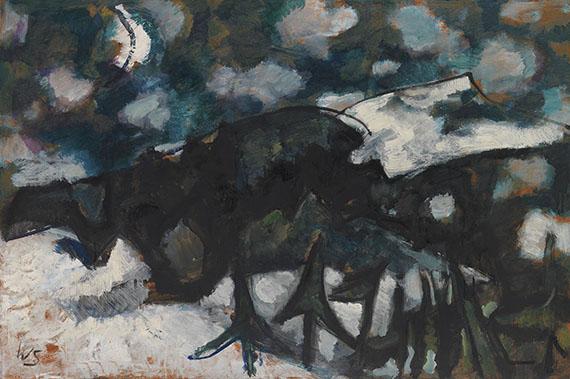 Werner Scholz - Winternacht