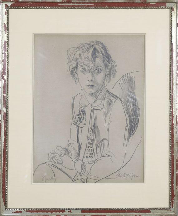 Rudolf Schlichter - Speedy - Rahmenbild