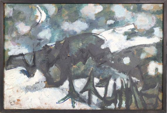 Werner Scholz - Winternacht - Rahmenbild