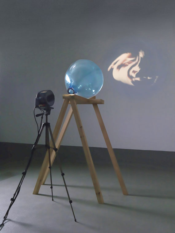 Tony Oursler - Blue Transmission