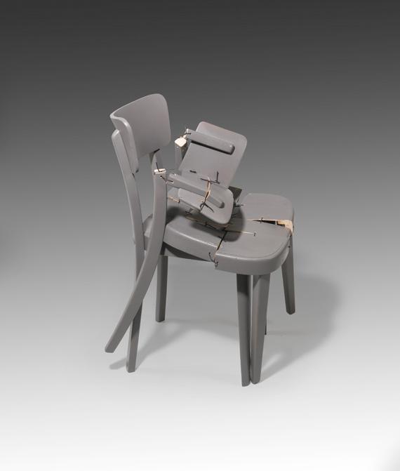 Yves Netzhammer - Stuhl