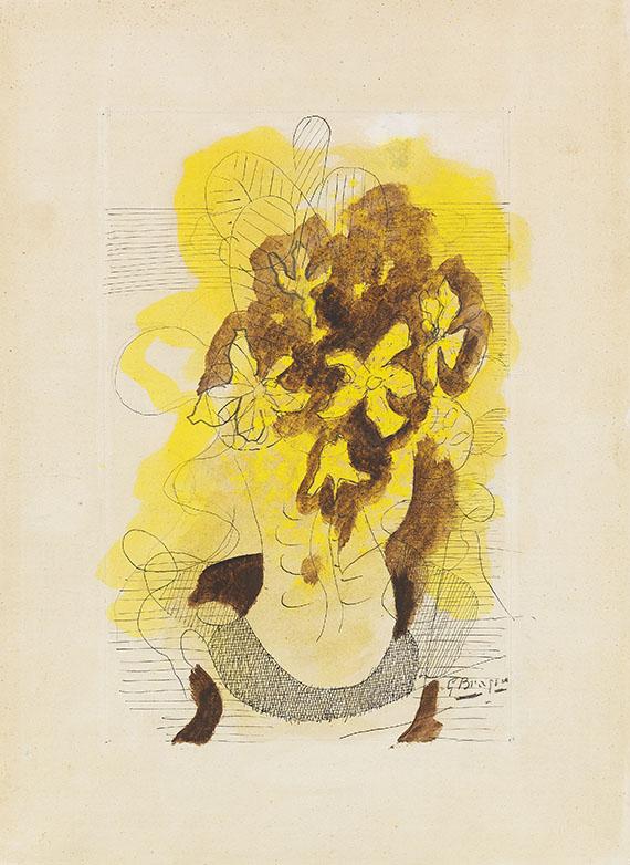 Georges Braque - Nature morte aux fleurs