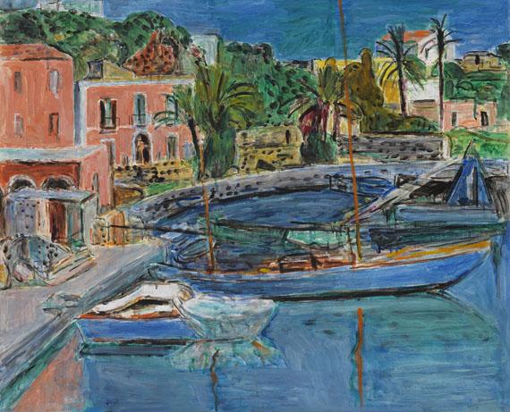 Purrmann - Der Hafen von Porto d'Ischia
