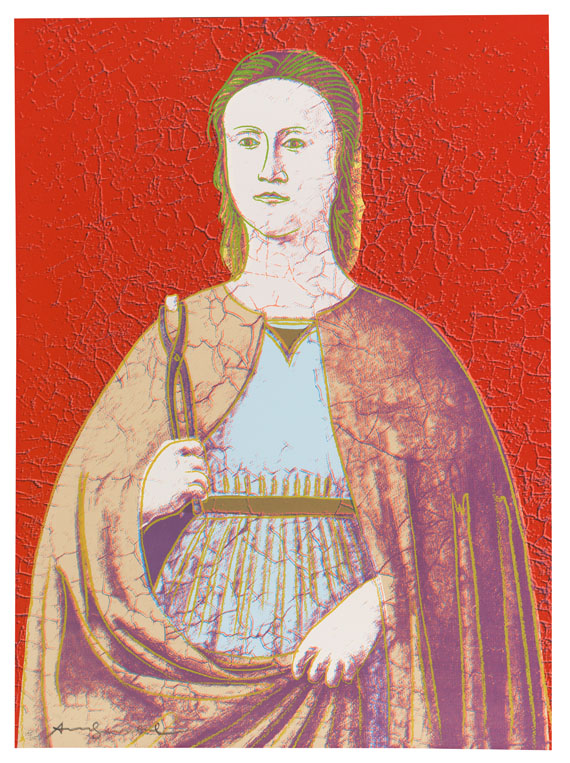 andy warhol saint appollonia - Andy Warhol Lebenslauf