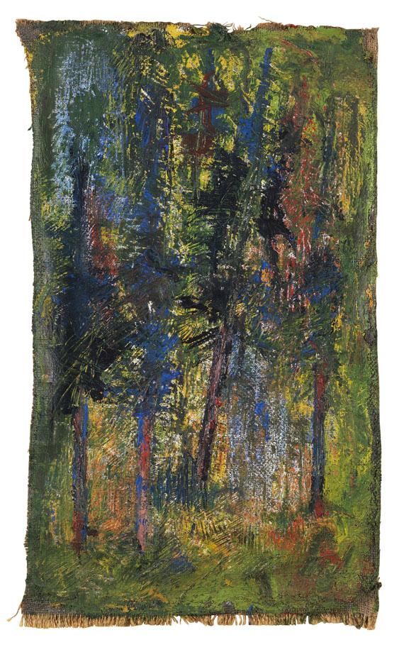 Gerhard Altenbourg - Vier Bäume