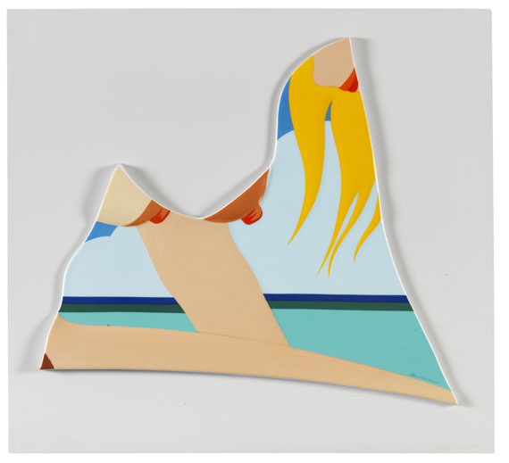 "Tom Wesselmann - Rosenthal Wand-Objekt ""Seascape"""