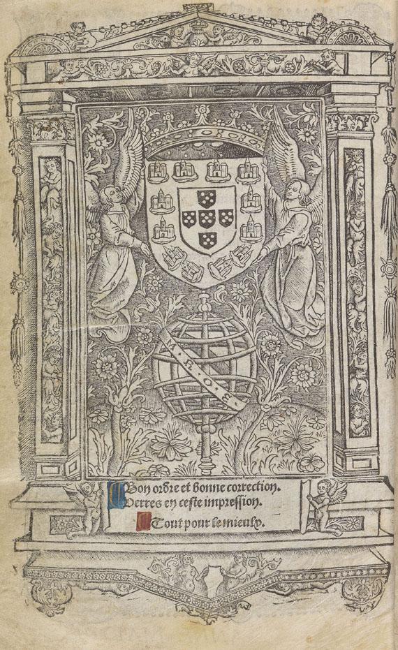 Horae B.M.V. - Heures a lusaige de Romme. Paris 1514 -