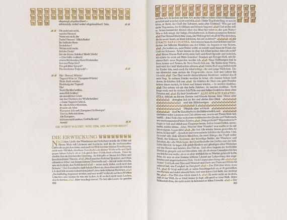 Henry van de Velde - Nietzsche, Friedrich, Also sprach Zarathustra -