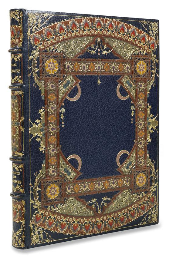 Franz Toussaint - Le jardin des Caresses. 1914 - Meistereinband.