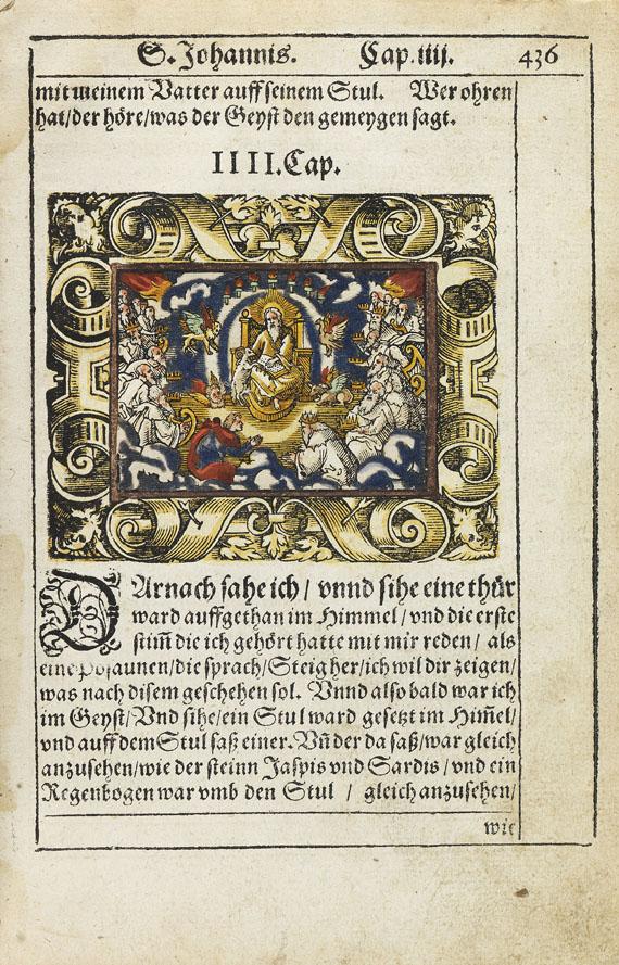 Biblia germanica - Das Newe Testament. 1570