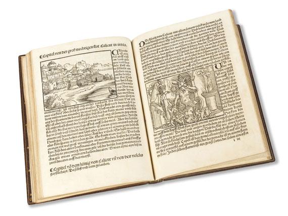 Ludwig de Varthema - Die ritterlich und lobwirdig Rays. Augsburg 1515. -