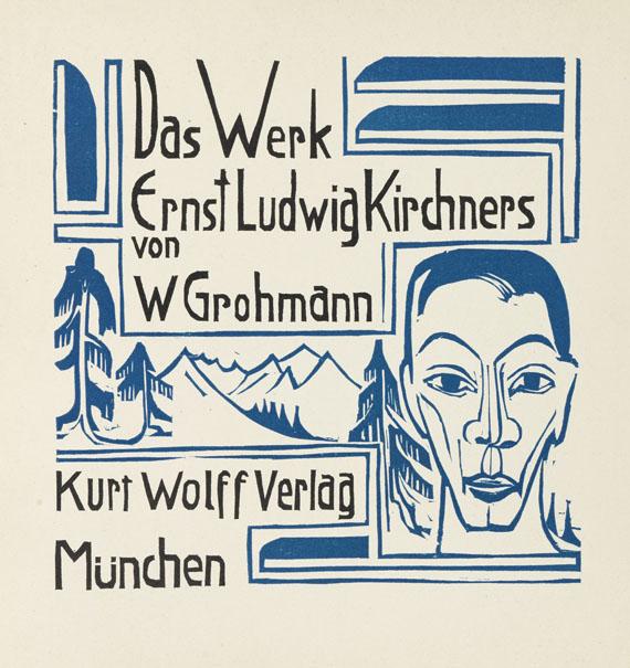 Ernst Ludwig Kirchner - Grohmann, Das Werk Ernst-Ludwig Kirchners.
