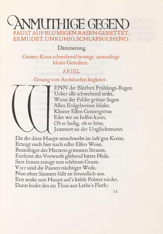 Johann Wolfgang von Goethe - Faust. Teil I und II. 2 Bände