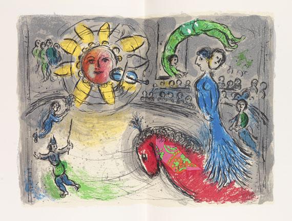 Marc Chagall - Derrière le miroir.