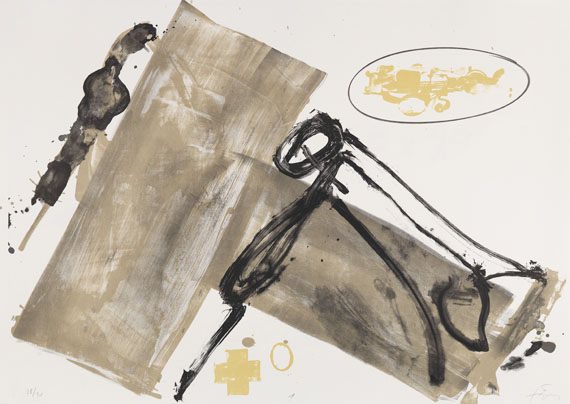 Antoni Tàpies - Suite 63 x 90