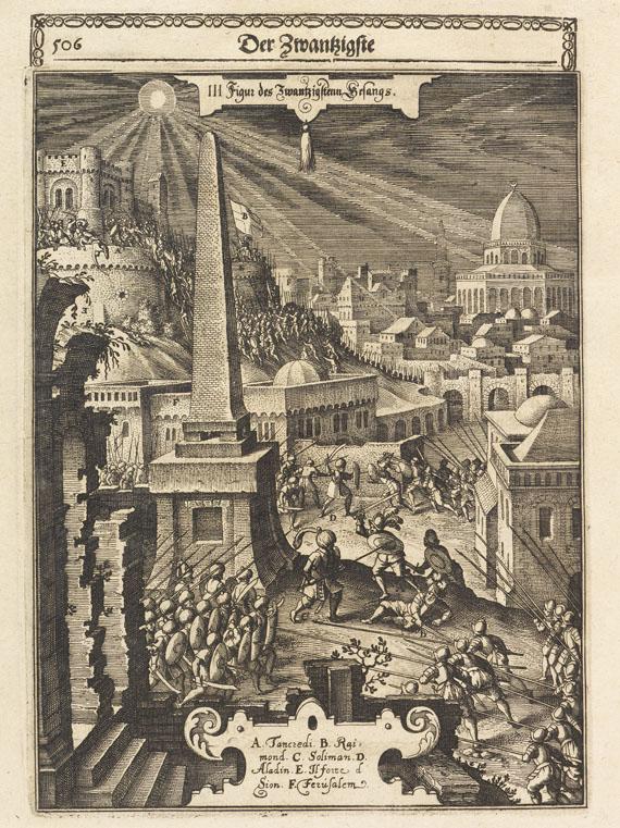 Torquato Tasso - Gottfried oder erlösetes Jerusalem. 1651.