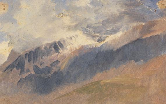 Deutschland - 2 Bll.: Wolkenstudien im Gebirge - Weitere Abbildung