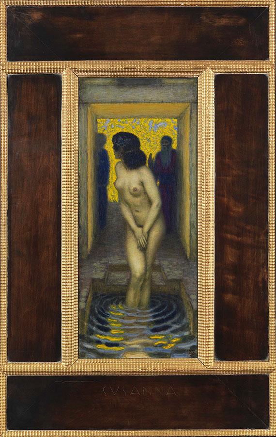 Franz von Stuck - Susanna im Bade - Frame image