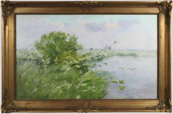 Karl Hagemeister - Märkische Seenlandschaft - Frame image