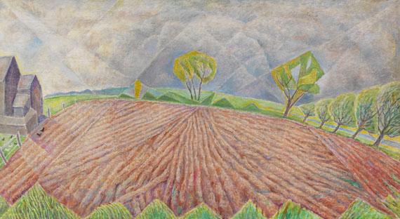 (d. i. Marie Vorobieff) Marevna - Holland Field