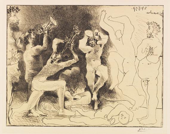 Pablo Picasso - La Danse des Faunes