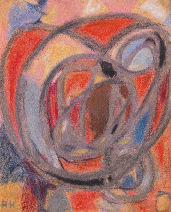 Adolf Hölzel - Komposition (Rund- und Ovalformen)