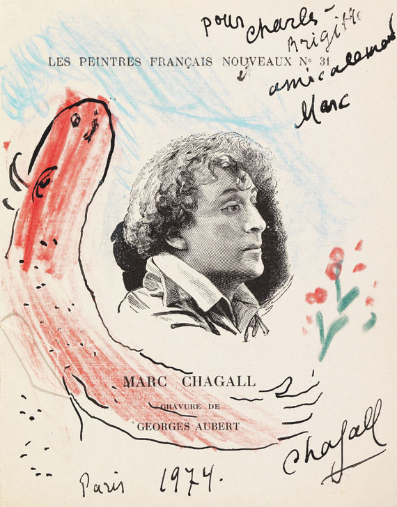 Marc Chagall - Offrande du bouc rouge