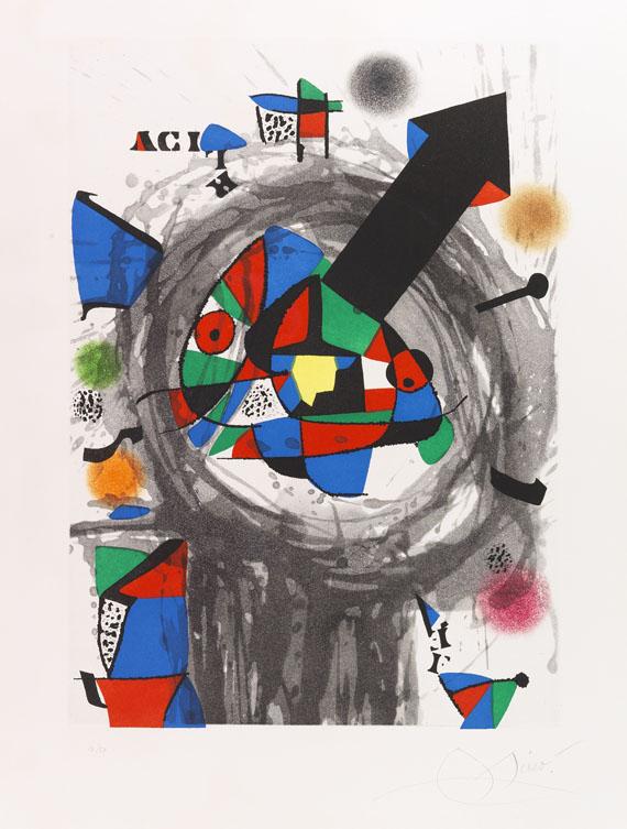 Joan Miró - Personnage à la Flèche Noire