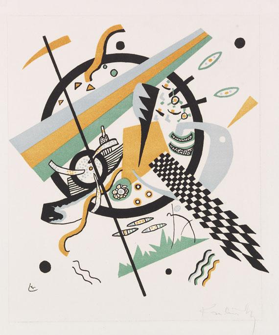 Wassily Kandinsky - Kleine Welten IV