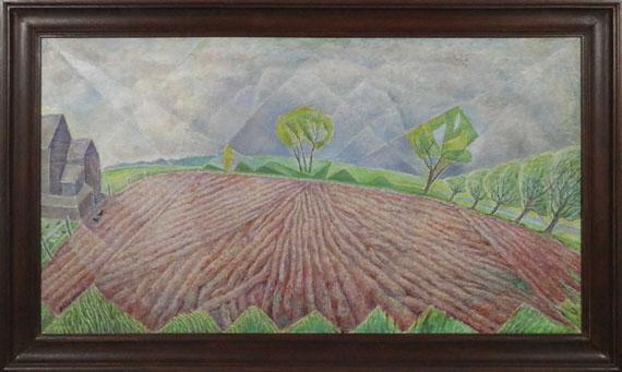 (d. i. Marie Vorobieff) Marevna - Holland Field - Frame image