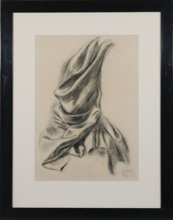 George Grosz - Textilstudie - Frame image
