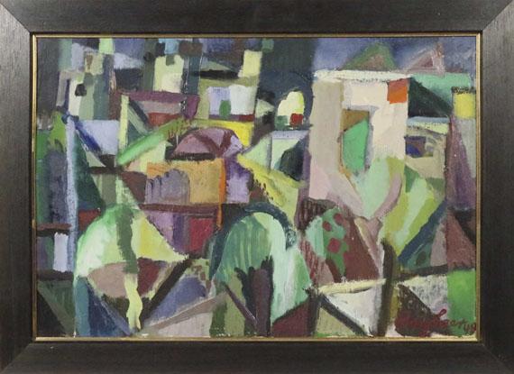 Eduard Bargheer - Häuser - Frame image