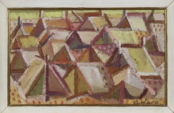 Eduard Bargheer - Zeltlager - Frame image