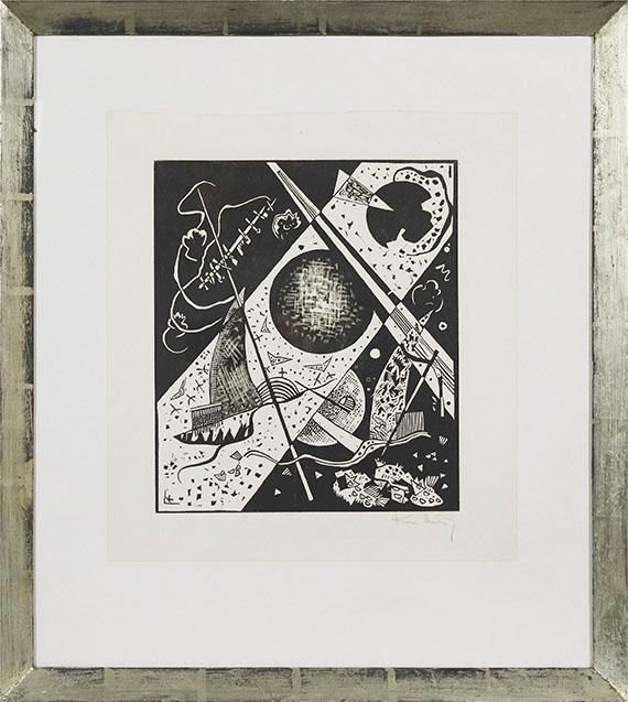 Wassily Kandinsky - Kleine Welten VI - Rahmenbild